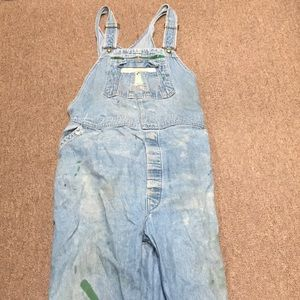 """Pre-Owned, Very Used, Beaten Up """"Liberty"""" Overalls"""